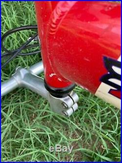 Trek y3 mountain bike- frame measurements in photos