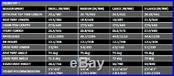USED Niner MCR 9 Medium Steel Hardtail Steel Mountain Frame Reynolds 853 Grey