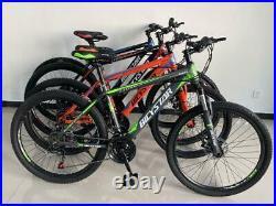 Unisex Mens Womens Mountain Bike Hybrid Bike 26 27.5 29