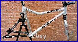 VGC Cannondale Scalpel 2000 frameset 22 XC frame, alloy carbon fatty ultra fork