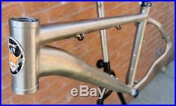 VGC Lynskey made Cotic Soda Titanium mountain bike MTB frame 16 no Soul BFE