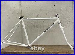 Vintage Fat Chance Frame Set MTB 19 White U-Brake Campagnolo