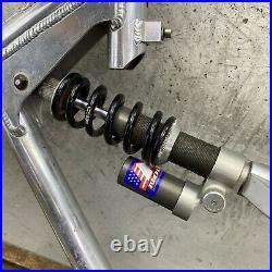 Vintage Frame 957 Pro Flex Girvin Carbon Fiber WAY BIG 1 1/8 90s MTB FF3