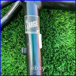 Vintage Klein Attitude Mountain Bike Frame Large 19.5 Black/Green/Purple 26 MTB