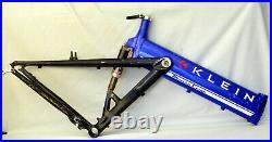 Vintage Klein Mantra Mountain Bike 19.5 w Fox Full Suspension USA MADE 26 MTB