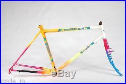 Vintage Rossin Marathon MTB Frameset 49cm Gilco Tubes Classic Mountain Bike NOS