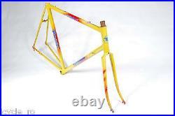 Vintage Rossin Performance Bicycle Frameset 58 cm Steel Classic Road Bike NOS