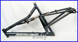 Vintage Santa Cruz Heckler 20 Large Full Suspension Mountain Bike Frame 26 Fox