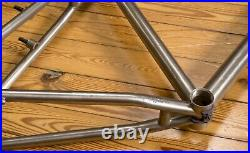 Vintage Titanium Kona Hei Hei Mountain Bike Frame MTB 18 1990s Lynskey Sandvik