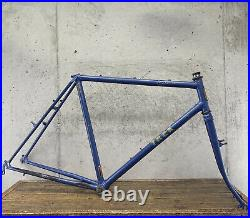 Vintage Trek MTB Frame Set Early 80s Lugged 830 Steel 21.5 Mountain Made in USA
