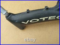 Vintage Votec C9 Carbon-Rahmen Raritat