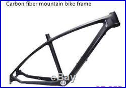 Voll Carbon Rahmen 17 Zoll Mountain Bike Carbon MTB Radsport Fahrradrahmen