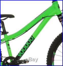 Voodoo Bakka Unisex Mountain Bike 24 Wheel Alloy Frame 8 Speed Front Suspension