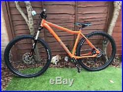Voodoo Bizango Mountain bike, Orange, size large (20 frame) excellent condition