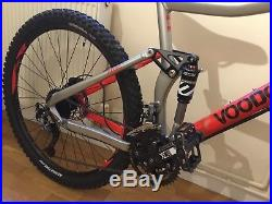 Voodoo Canzo Full Suspension Mountain Bike 20 Frame 27.5 Wheels