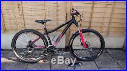 Voodoo Mountain Bike Soukri 27.5 Womens Matt Black & Hot Pink V-Good 18in Frame