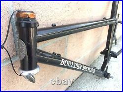 Vtg Boulder Bicycles Defiant 22 Mountain Bike Frame Very Rare USA Made No BB