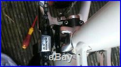 White/Black Chris Boardman FS Pro Mountain Bike Large Frame