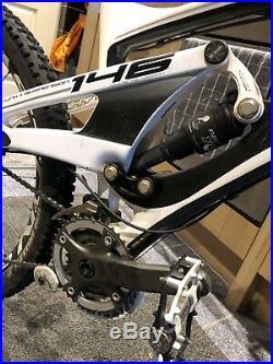 Whyte 146 Works Full Sus carbon mountain Bike Medium Frame