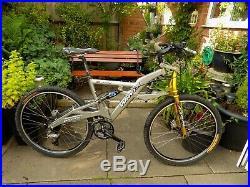 Whyte JW-2 Full Suspension Mountain Bike 17 Frame Hydraulic Disc Brakes