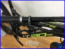 Whyte T130 RS Mountain Bike Matt Granite/Lime, Medium frame, 27.5 wheels