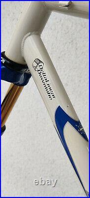 XL KHS Team ST 26 Soft Tail MTB Bike Rock Shock SID Titanium 1 1/8 fork