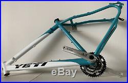 Yeti Mountain Bike Frame 18 With Shimano Gear