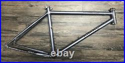 Yokota Project Yosemite Pro Steel 26 Mountain Bike Frame, Medium, 17 Vintage